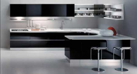 Кухня в стиле минимализм. Дизайн и обустройство