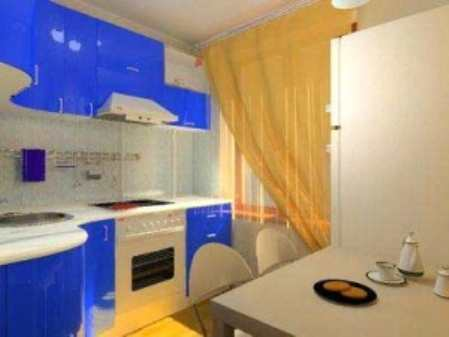 Большие перспективы дизайна маленькой кухни в хрущёвке