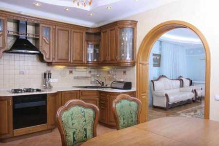 Эталонное совершенство дизайна кухни в классическом стиле