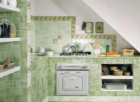 Плитка Керама Марацци для кухни: выбор и монтаж