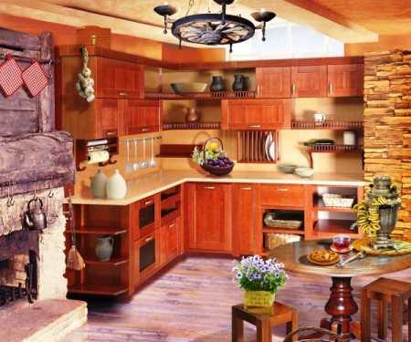 Кухня из дерева своими руками – особенности выбора комплектующих