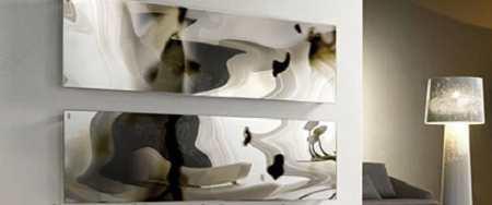 Стеклянные кухонные фартуки скинали – роскошь или необходимость