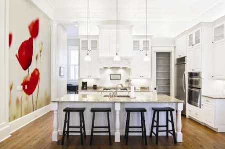 Как скомбинировать обои на кухне: оригинальные способы декорирования стен