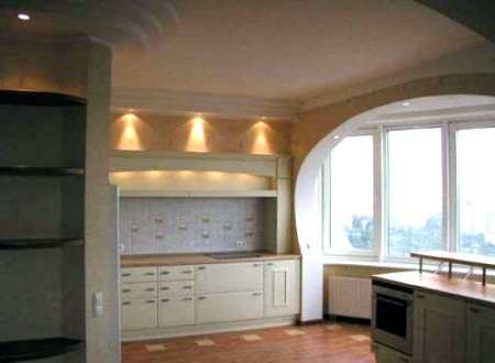 Дизайн кухни с балконом: 45 красивых идей в стиле «сепаре» и «революшн»