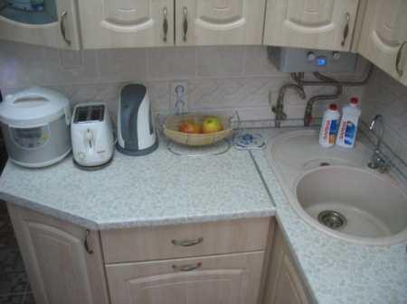 Угловая кухня 6 кв м – дизайн кухонного гарнитура