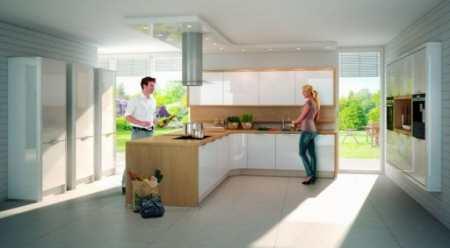 Дизайн интерьера кухни в частном доме: 30 вариантов обустройства