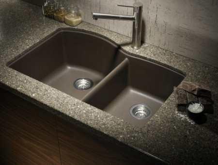 Гранитные мойки для кухни – синтез красоты и качества