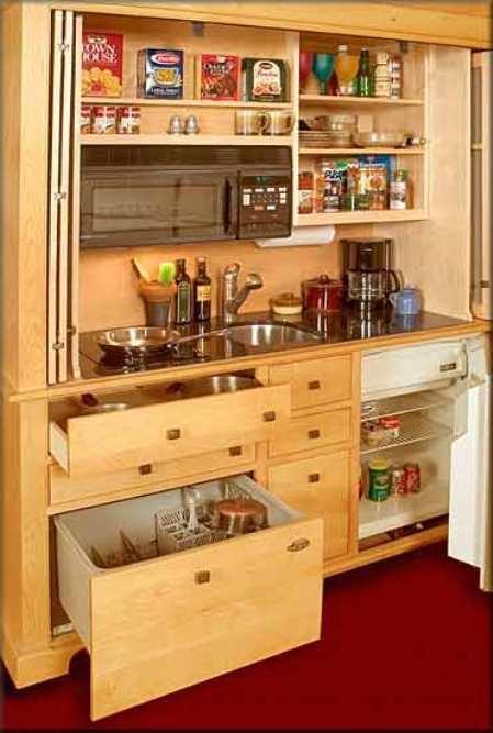 Мини-кухни для дачи – отбираем самое необходимое