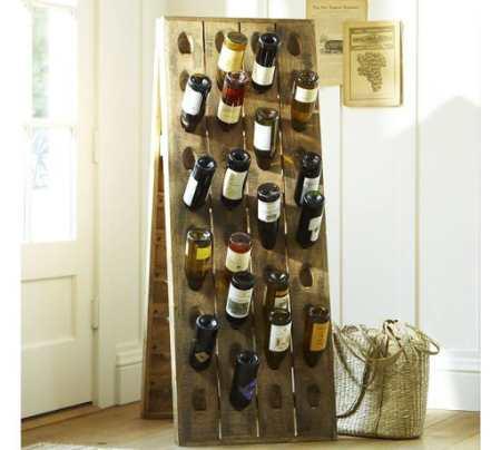 Как красиво хранить вино: винные стойки, полки и стеллажи как элемент декора кухни