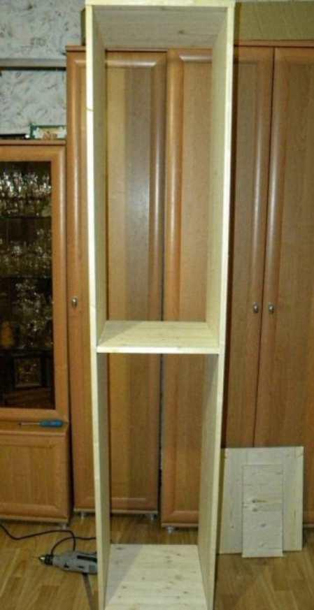 Шкаф-пенал для кухни по инструкции