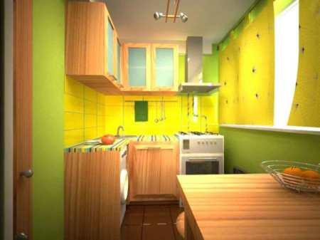 Обои для маленькой кухни – сложности выбора