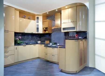 Кухни МДФ эмаль: фасады с лакокрасочным покрытием