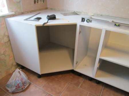 Подробная инструкция по сборке кухонного гарнитура своими руками