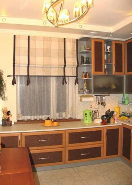 Современные шторы – шторы на кухню различных видов