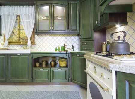 Интерьер кухни в стиле прованс: тепло и уют Лазурного берега