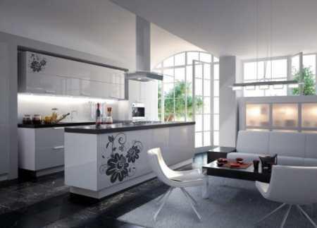 Особенности планировки и дизайна кухни столовой в фото примерах