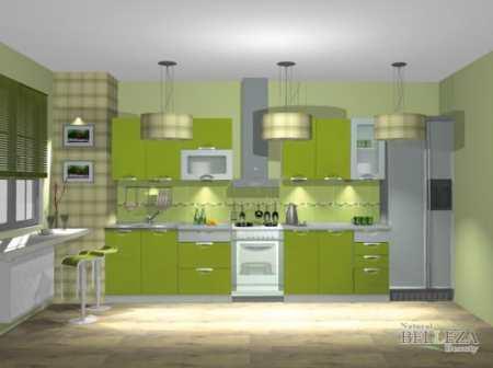 Ода оливковой кухне: 35 примеров красивого интерьера
