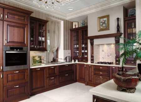 Популярные варианты ремонта кухни