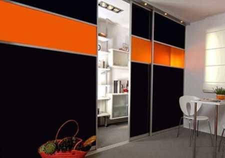 Cоветы по созданию интерьера черно-оранжевой кухни