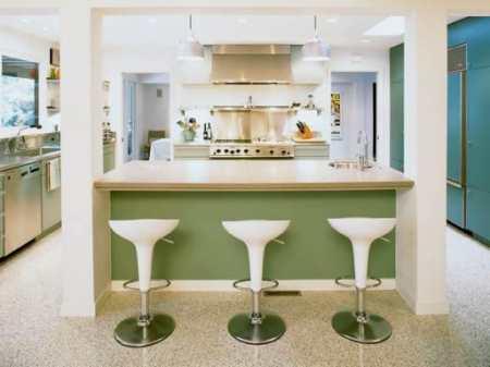 Кухня в стиле ретро: ностальгически прекрасная гостья из прошлого