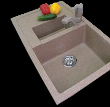 Мойки из искусственного камня для кухни – современная альтернатива металлическим мойкам