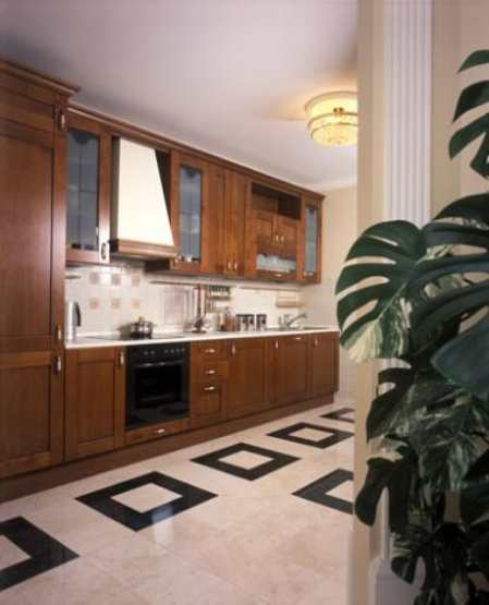 Какой пол выбрать для кухни - варианты напольных покрытий