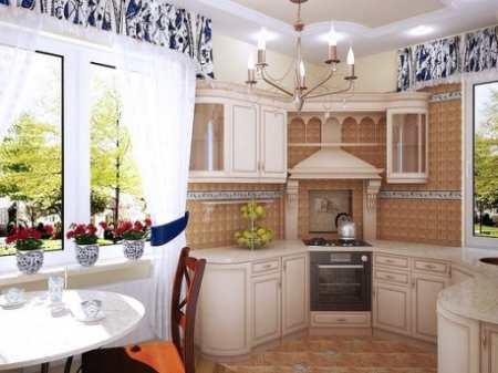 Выбираем ламбрекены для кухни: 25 вариантов элегантного декора кухонного окна