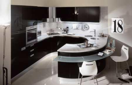 Кухни угловые Модерн – особенности дизайна помещения