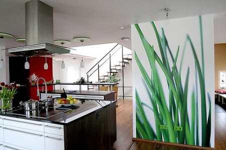 Фотообои для кухни: 14 ярких идей для эффектного интерьера