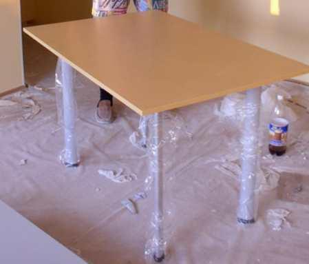 Как сделать самому стол из столешницы
