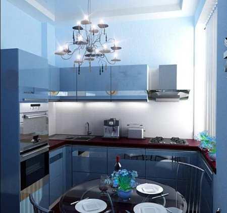Ремонт кухни 9 кв м – шесть этапов создания интерьера