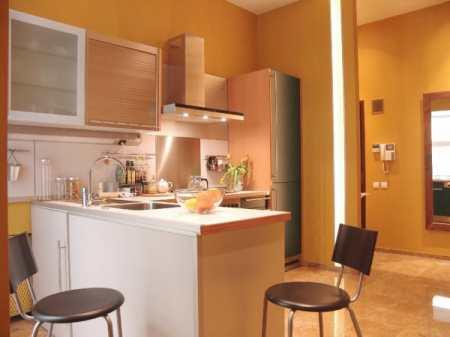 Кухня-прихожая – дизайн при совмещении
