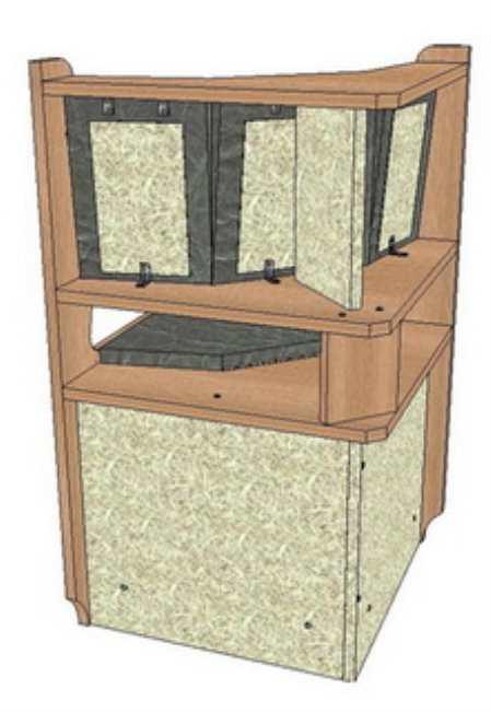 Кухонный уголок своими руками в подробных чертежах, схемах и рисунках