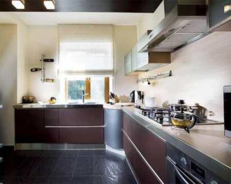 Интерьер кухни 12 кв м: как не потерять простор в мебельно-технических излишествах