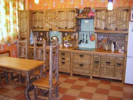 Деревенский «гламур»: оформляем интерьер кухни в стиле кантри