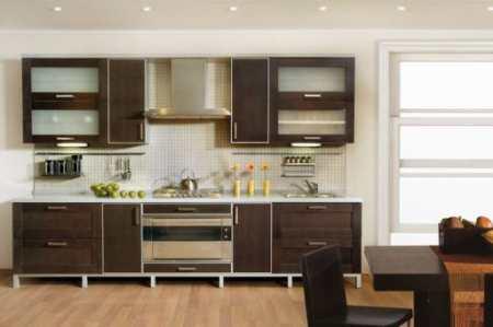 Как оформить интерьер кухни цвета венге: 27 благородных мотивов
