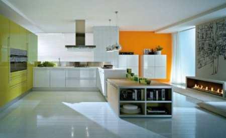 Стоит ли клеить оранжевые обои на кухне: мнение дизайнера и фото факты